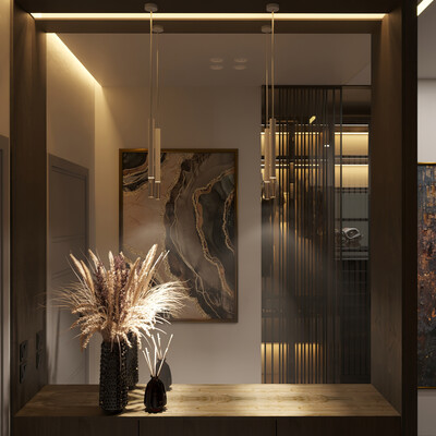 hallway, intrior design