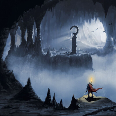 пещера, подземелье, Фэнтези