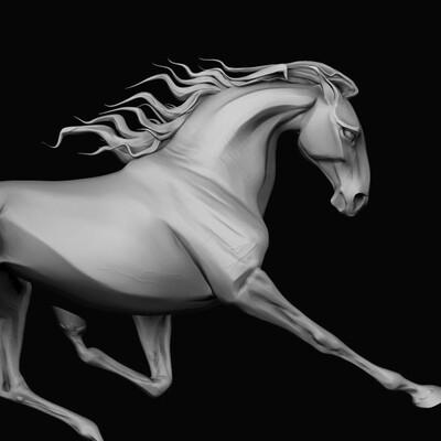 Лошадь, Конь, стилизация