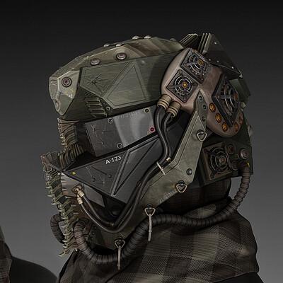 sci-fi helmet, Шлем наемника, бронешлем, hard surface, 3д моделирование, экипировка, дизайн, концепт