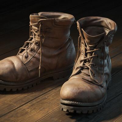ботинки, Предметная визуализация, хлам