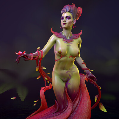 goddess, Greece, woman, 3d modeling, Concept Art, myth, hades, History, game character, beautiful girl
