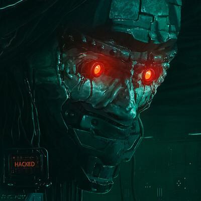 future, illustration, MarchOfRobots_SmirnovSchool, marchofrobot2021, Concept Art, Robots, mech, mechanical