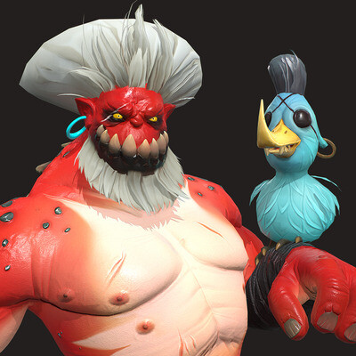 3d, game character, characterdesign, characterart, gamedev, game ready, Game Low-poly