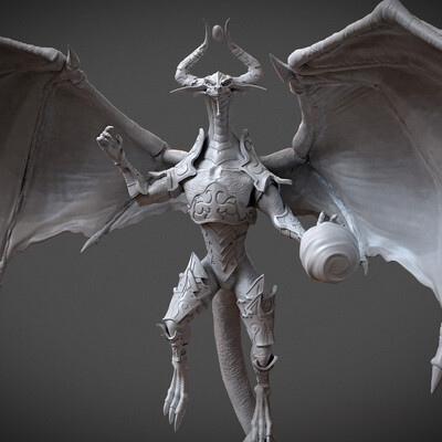 Nicol Bolas MTG, Dominaria, modelfor3dprint, miniatures, God-Pharaoh, Forever Serpent, dragon, dragons, Nicol