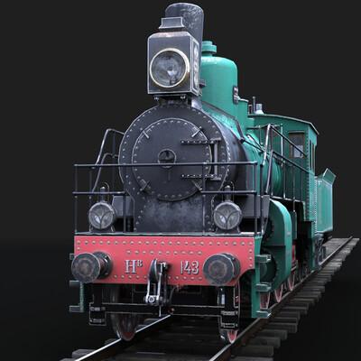 паровоз, ретро, транспорт, История, железная дорога, локомотив