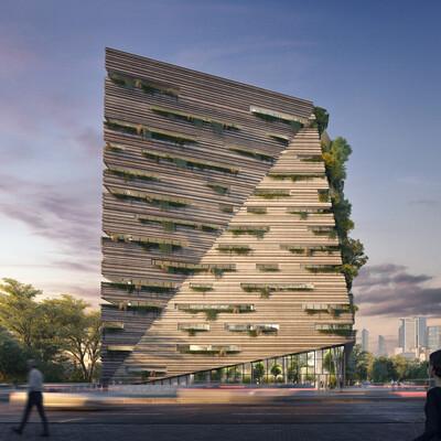 volumetrics, archviz, architectural conception
