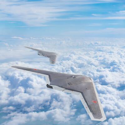 самолет, самолеты, С-70, блендер, БПЛА, охотник, война