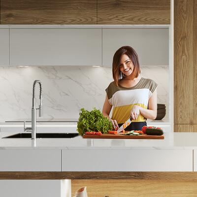 кухня, Визуализация, реклама, ND3D, дизайн, дизайн интерьера