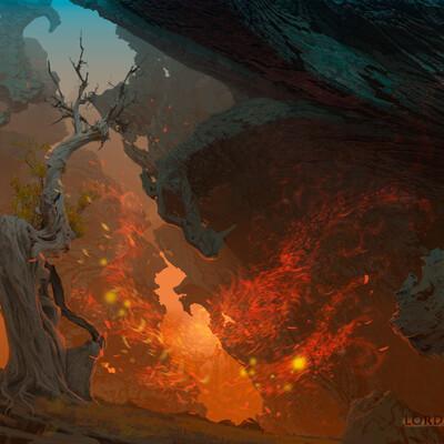 2dart, Illustration, concept_art, Environments
