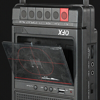 cassette, Recorder, Audio, music, Old, retro, device, stereo, mp3, prop