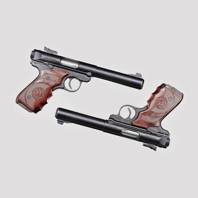 shotgun, handgun, pistol, materials, Smart Material, pbr materials, Textures&materials
