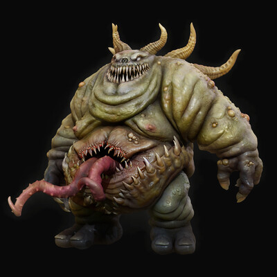 character, demon, monster