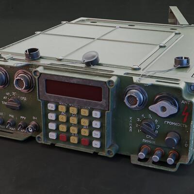 radioactive, gamedev, gamedesing, blender, blender3d, Hard Surface, Hard-Surface, radio-antenn-ship, radioreceiver, game model