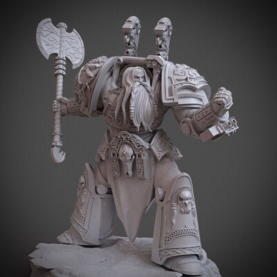 modelfor3dprint, miniatures, Warhammer, 40k, 40000, warhammer40000, Warhammer40k, Logan, LoganGrimnar