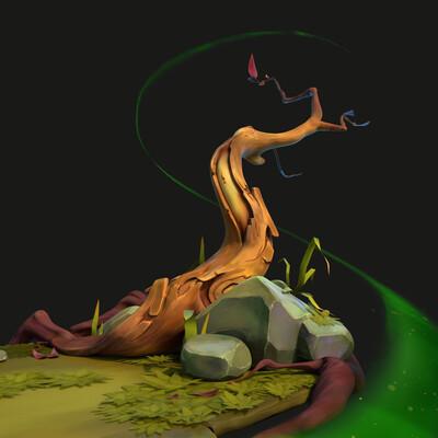 дерево, старое дерево