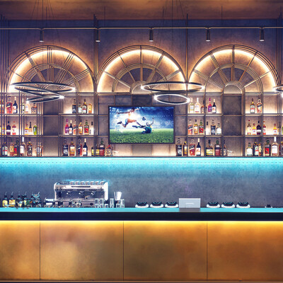 3ds max, Corona Renderer, interior design, interior, restaurant