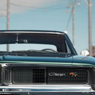 musculecar, charger, Dodge, RT, car, 1969, dodge cgarger