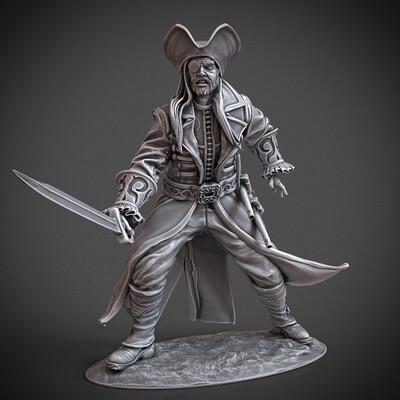 Digital 3D, 3D Printing, Fantasy, Board & Card Game Art, Character Design, miniature, arjkalobas, sculpt, 3dprint